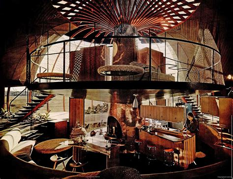b home interiors 1951 quonset hut mansion architect bruce goff flickr