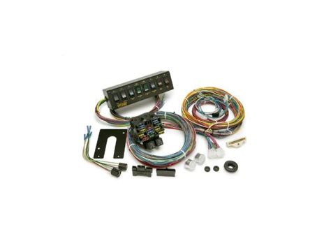 painless drag race wiring harnesspanel kit