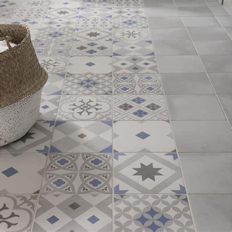 lino sol cuisine carrelage sol et mur gris effet ciment gatsby l 20 x l 20