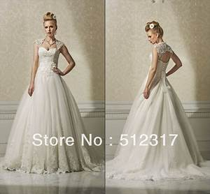 puffy dropped waist ball gown wedding dresses with jacket With drop waist ball gown wedding dress