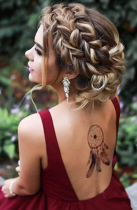 17 best ideas about Braided Updo on Pinterest   Easy