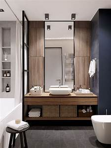 Meuble Salle De Bain Moderne : a vous de trouver la petite salle de bain moderne de vos r ves ~ Nature-et-papiers.com Idées de Décoration