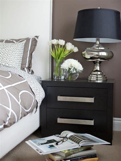Nightstands Bedroom by Tips For A Clutter Free Bedroom Nightstand Hgtv