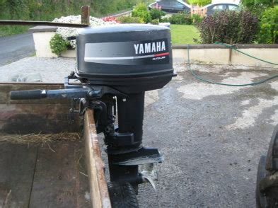Yamaha Outboard Motors Ireland by Yamaha 25hp Autolube Sh Outboard Engine For Sale In