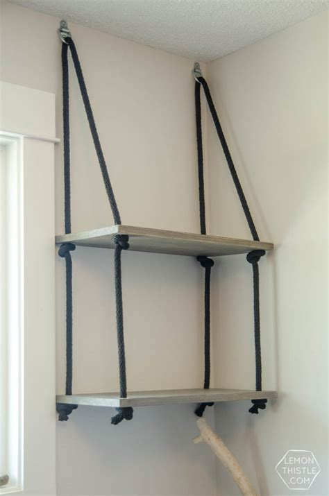 floating wall shelf wood diy hanging shelves and farewell office lemon thistle