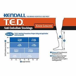 Ted Knee High Open Toe Anti Embolism Compression