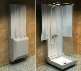shower ideas for small bathroom amazing folding shower for small bathrooms freshome