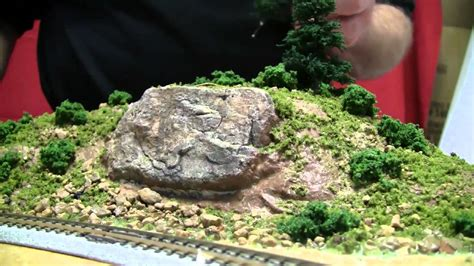 basic model train scenery tutorial   color