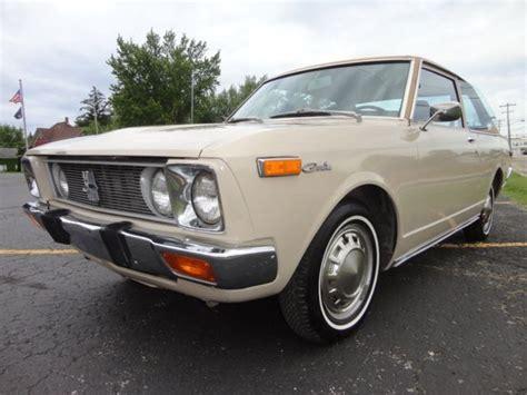 1972 toyota deluxe mk1 corolla and celica chassis rare jdm ta12l ha