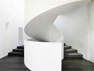 Escalier Colimaçon Beton : 15 exemples d 39 escalier design pour une maison construire tendance ~ Melissatoandfro.com Idées de Décoration