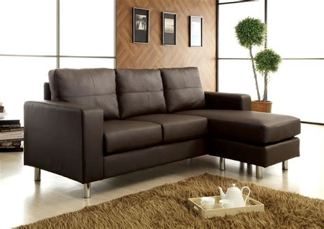 brown sectional sofa why you should choose a small sectional sofas ifresh design