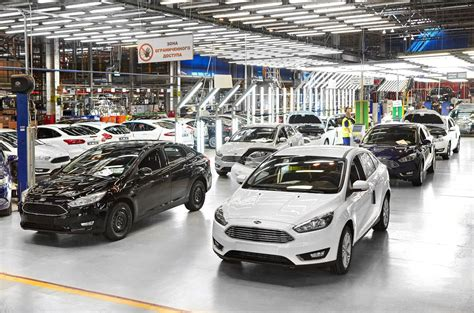 Ford Focus Plant by Ford Sollers Begins Focus Production At Vsevolozhsk