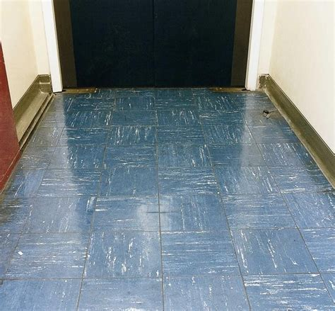 floors asbestos cement and vinyl tiles hse