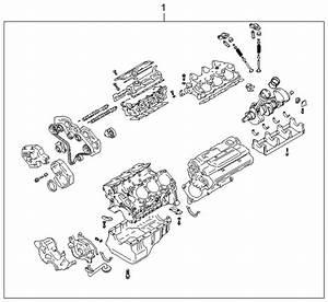2004 Kia Amanti Sub Engine Assy