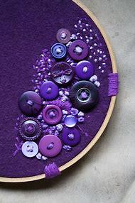 Button Art Purple