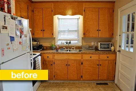 inexpensive kitchen makeovers kitchen before after a budget kitchen makeover 1859