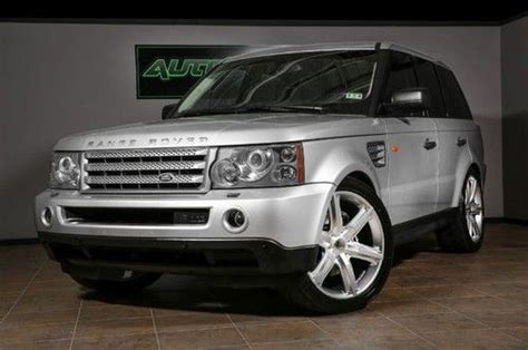 Sell Used 2006 Range Rover Sport Supercharged, Cec Wheels