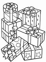 Coloring Gifts Stack Sheet Para Regalos Colorear Dibujos Sky sketch template