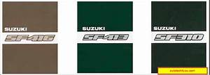 Suzuki Swift Sf416  Sf413  Sf310 Repair Manual