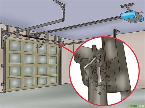 Comment Ajuster Le Ressort D'une Porte De Garage