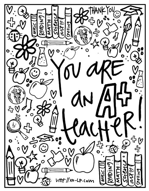 Then score along the white fold lines. The Best Free Printable Teacher Appreciation Cards to Color   Martin Website