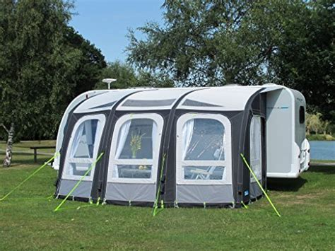 kampa rally ace air  large inflatable caravan porch awning inflatable