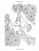 Coloring Silk Aerial Silks Amazon Positions Pages Drawings Colorful Poses Collective Volume Display Fairy sketch template
