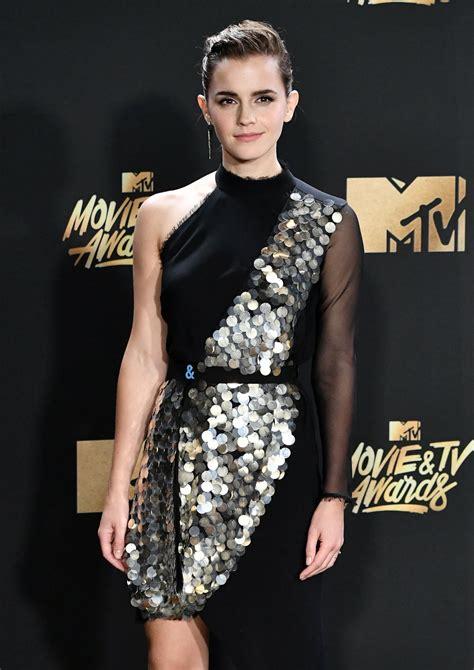 Emma Watson Mtv Movie Awards Los Angeles