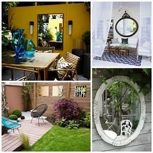 Objet Deco Exterieur : miroir ext rieur pour une d co de jardin extraordinaire ~ Carolinahurricanesstore.com Idées de Décoration