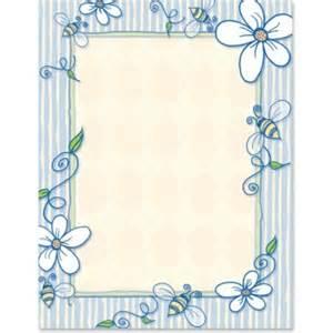 Printable Paper Border Designs