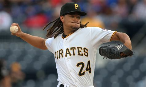 pittsburgh pirates pitcher chris archer pays  visit