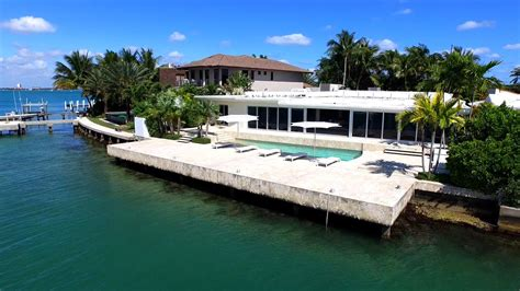 Tour Lenny Kravitz's Former Miami Beach Home