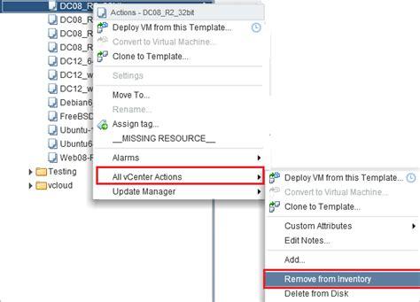 convert to template grayed out vmware convert to template grayed out after upgrade to vsphere 5