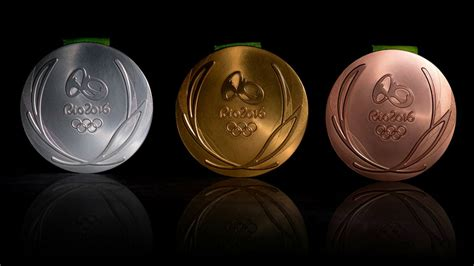 Olympic Medal Count Standings by Rio 2016 Olympics Medal Design Unveiled Athletics