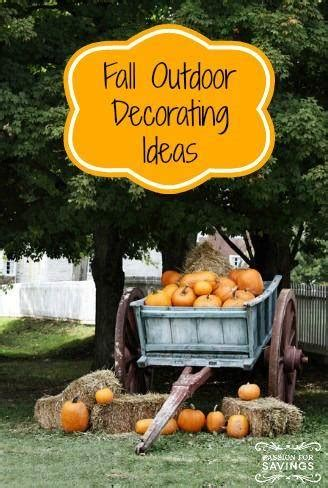 Decorating Ideas For Fall Outside by Fall Outdoor Decorating Ideas