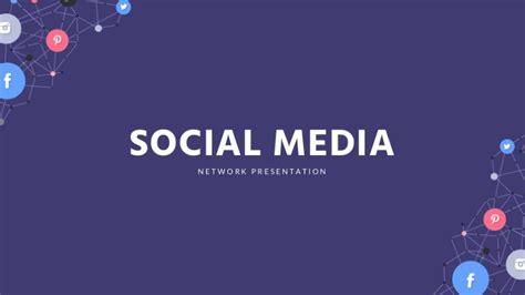 social media powerpoint template social media slides template free slides presentation