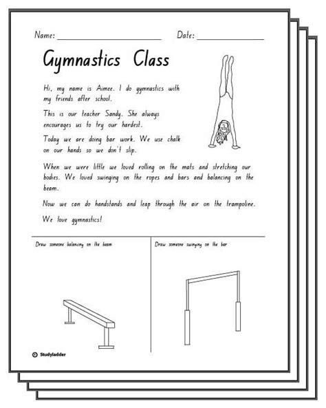 gymnastics response activity sheets skills 897 | 4052e927f096