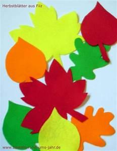 Blätter Vorlagen Zum Ausschneiden : herbstbl tter aus filz basteln rund ums jahr ~ Lizthompson.info Haus und Dekorationen