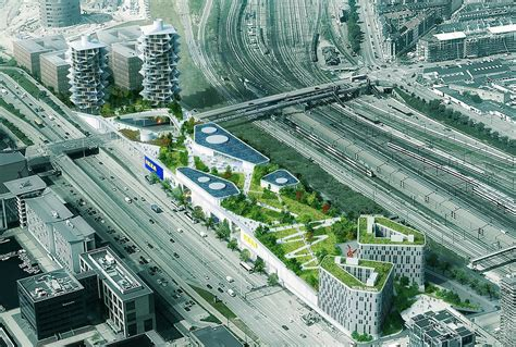 Ikea Küchenfronten Dänemark by Big S Cacti Towers Will Stand Next To New Ikea Store With