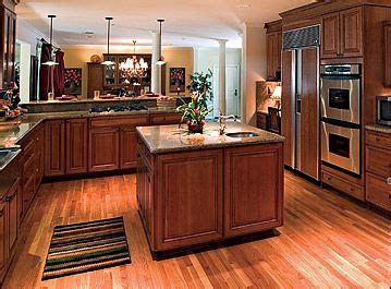 layout kitchen cabinets this is cool with hardwood floors medium stained 3688