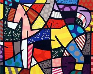 Pinturas Cuadros Lienzos: El arte de Romero Brito