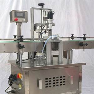 Automatic jar screw capping machine with speed adjustment ...