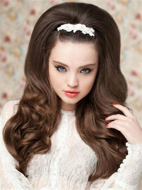 60s Hairstyles For Curly Hair by Pictures Wedding Hairstyles For Hair 60s Style