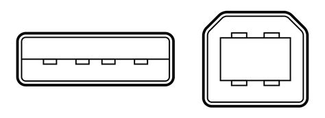 Usb Type-a And B Diagram.svg