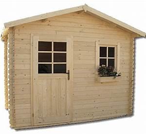 Cabanon En Bois : devnia abri de jardin en bois kit pr t monter style ~ Mglfilm.com Idées de Décoration