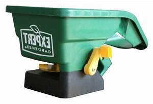 Expert Gardener Hand Held Manual Spreader Broadcast Seed