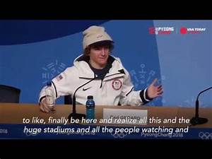 Red Gerard Gold medal Interview 2018 Olympics - YouTube