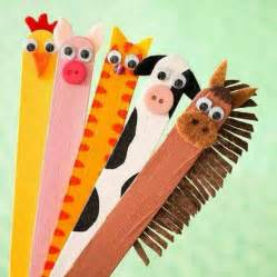 Animal Crafts with Popsicle Sticks