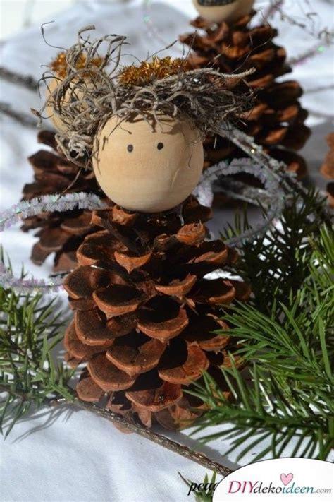 basteln mit tannenzapfen weihnachten basteln mit tannenzapfen die sch 246 nsten ideen f 252 r kinder