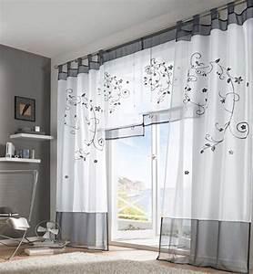 Kurze Vorhänge Für Wohnzimmer : fenstergestaltung 37 ideen f r gardinen trends und farbwahl fenster t ren zenideen ~ Markanthonyermac.com Haus und Dekorationen